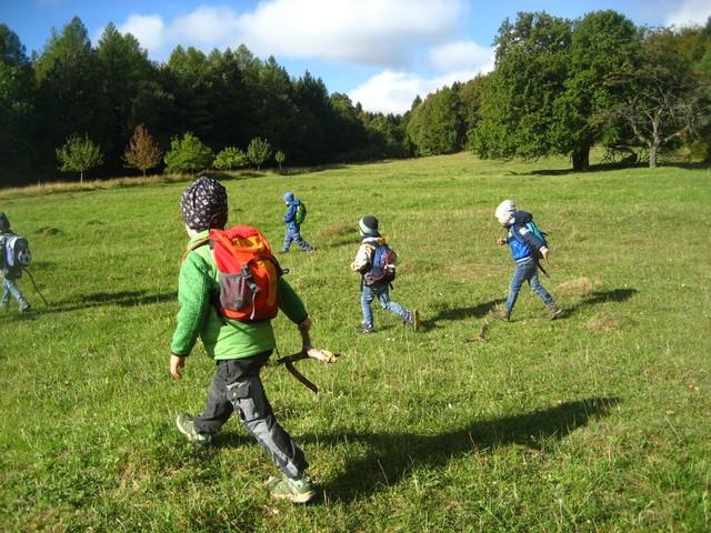 Kita-Wanderung Unterelsbach