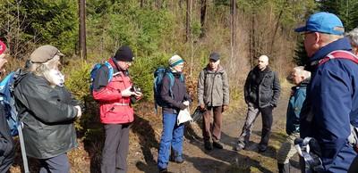 Fortbildung für Wanderführer*innen im Knüllgebirge