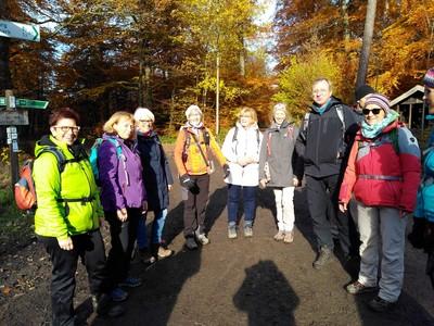 DWV-Wanderführer*innen auf Fortbildung im Taunus